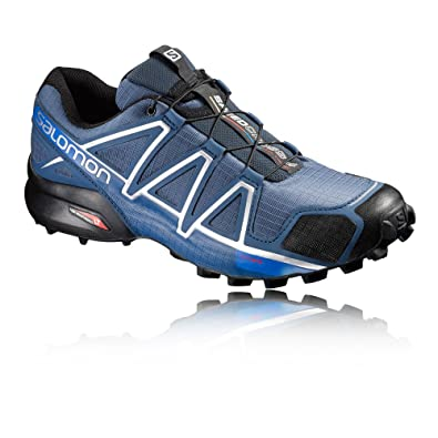 Salomon Speedcross 4 Trail Running Shoes - SS17-11.5 - Blue