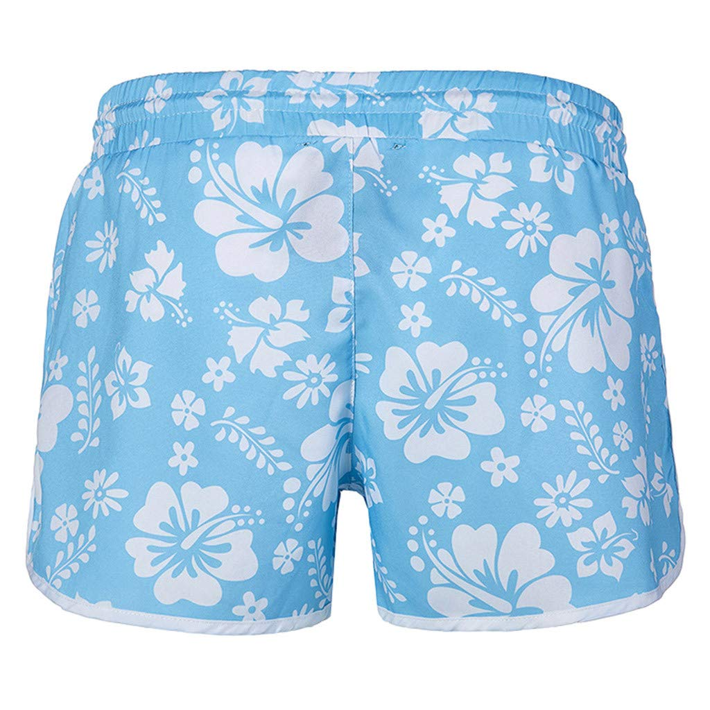 ZOMUSAR 2019 ❀ Fashion Women Multi-Color Hot New Floral Print Hot Pants Ladies Beach Pants Shorts