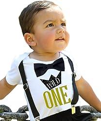 5c805331e321f Amazon.com: Noah's Boytique: First Birthday Outfits for Boys