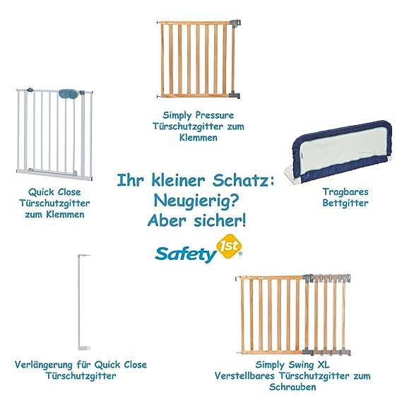 Safety 1st 35023741 QuickClose - Barrera de seguridad, con sujeción por presión (73-81 cm): Amazon.es: Bebé