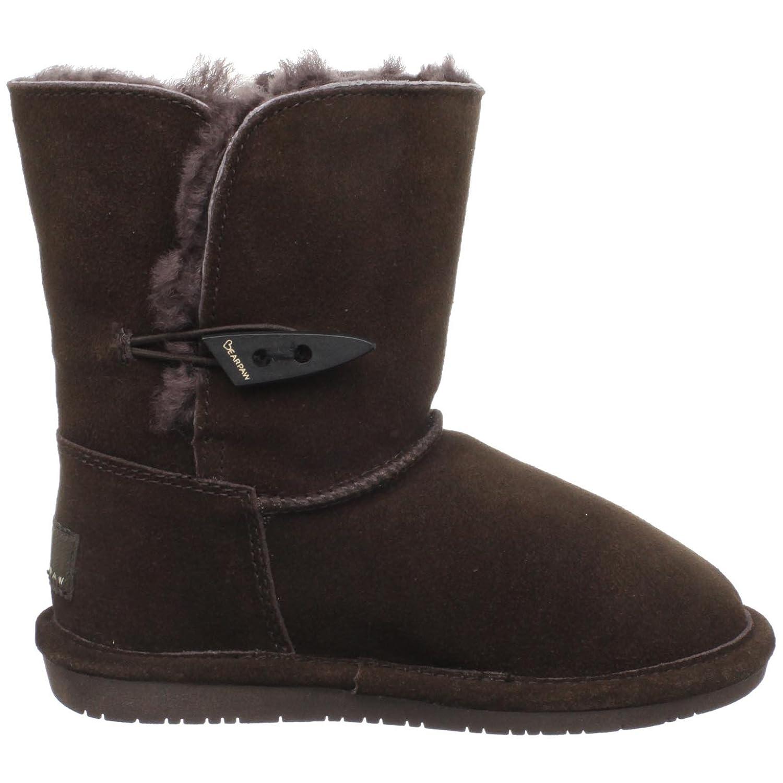 Bearpaw Abigail - Botas de cuero Infantil: Amazon.es: Zapatos y complementos