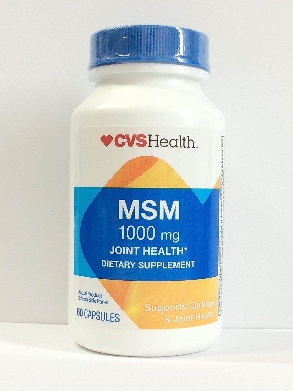 CVS Health MSM Joint Health - 60 Capsules