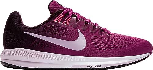 Nike Mujer Air Zoom Estructura 21 Zapatillas de running US), Tea Berry