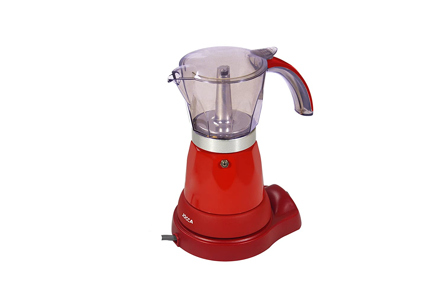 Jocca Italian Electric Coffee Maker, 480 W [Energy Class A++]