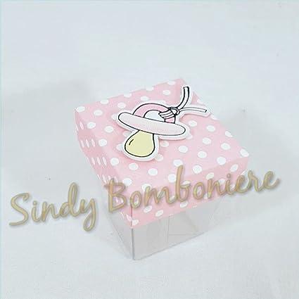 10 cajas para dulces para Bomboniere bautizo nacimiento bebé ...
