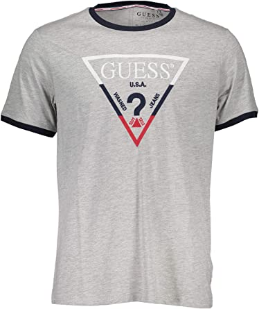 Guess Cn SS Triple Triangl Camiseta de Tirantes para Hombre