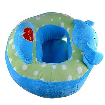Amazon.com: Infant seguro sentado silla bebé Apoyo Almohada ...