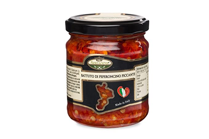 Salsa de chile picante - Battuto, 190g por Calabria & Calabria