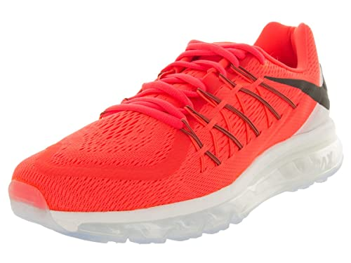 watch d084f cc6ac Nike Men s Air Max 2015, Bright Crimson Black-Summit White, ...