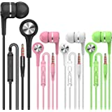 A12 Headphones Earphones Earbuds Earphones, Noise Islating, High Definition, Fits All 3.5mm InterfaceStereo for Samsung, iPho