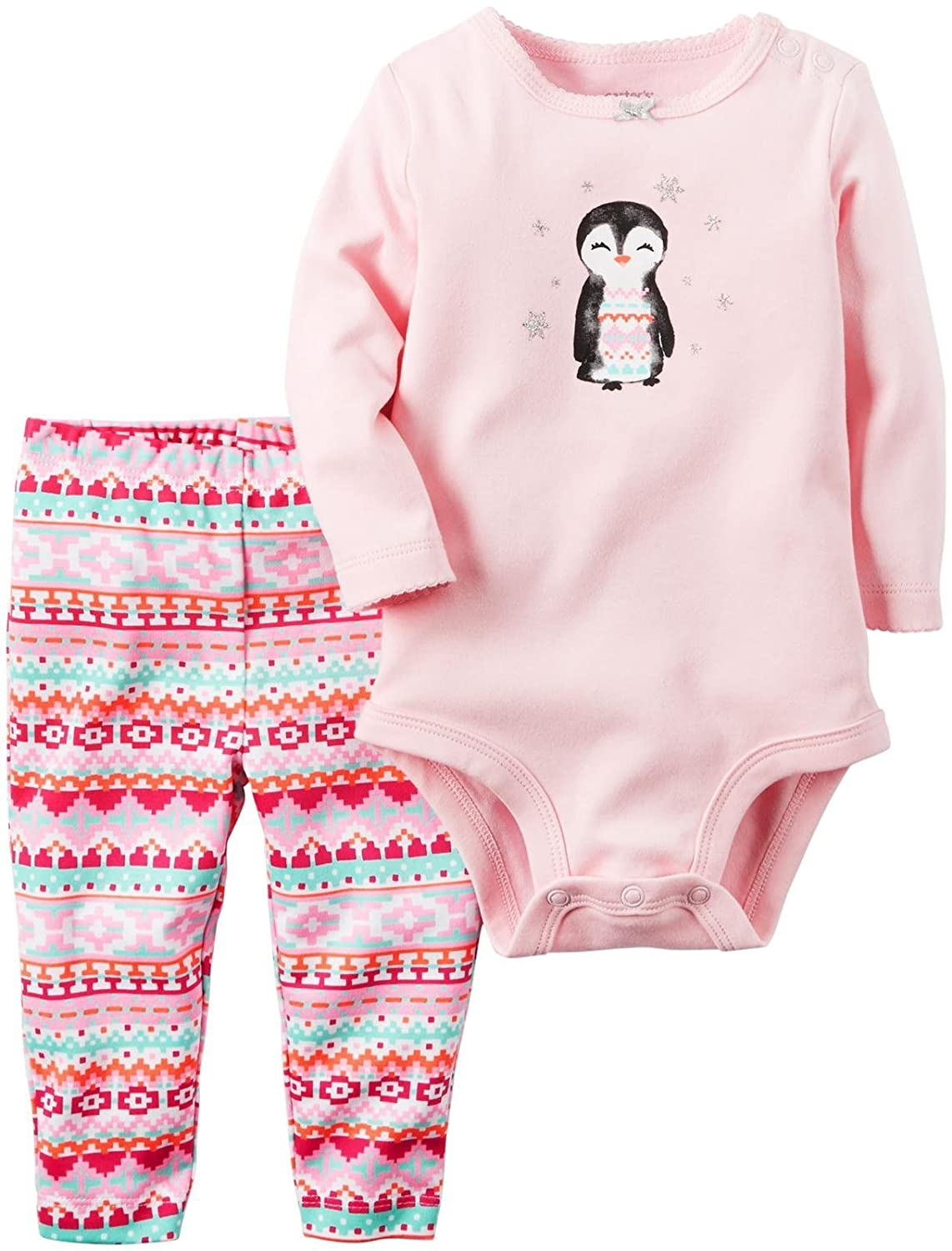 2bfd6278d Carter's Baby-Girls Bodysuit Pant Sets 121g860: Amazon.ca: Clothing &  Accessories