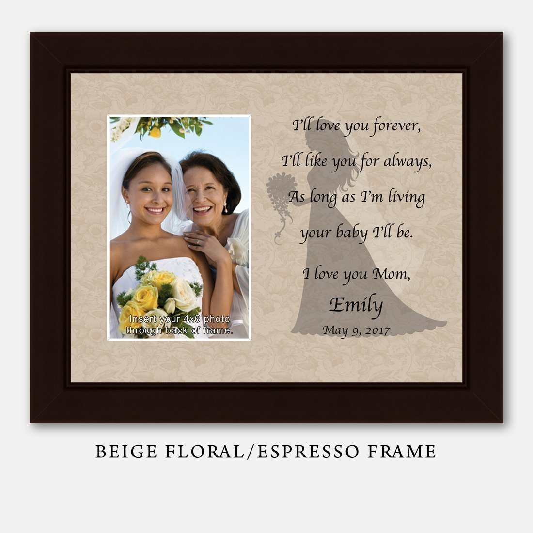 Amazon.com: Personalize Mother of the Bride I\'ll Love You Forever ...