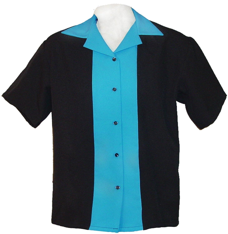 Tutti Ladies Retro Bowling Shirt 50's Style ~ Classic 57 Womens Bowling Shirts