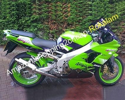 Motorbike Green Bodywork Fit For Kawasaki Parts ZX9R Ninja ZX 9R 2000 2001 ZX-9R 00 01 ABS Plastic Fairing Set