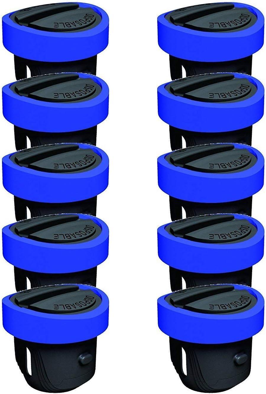 Meet Beauty Ding Juego de 10 Pilas 3V Batería para Collar de Perro para PetSafe RFA-188 Reemplazo Compatible Disponible botón Coin Cell
