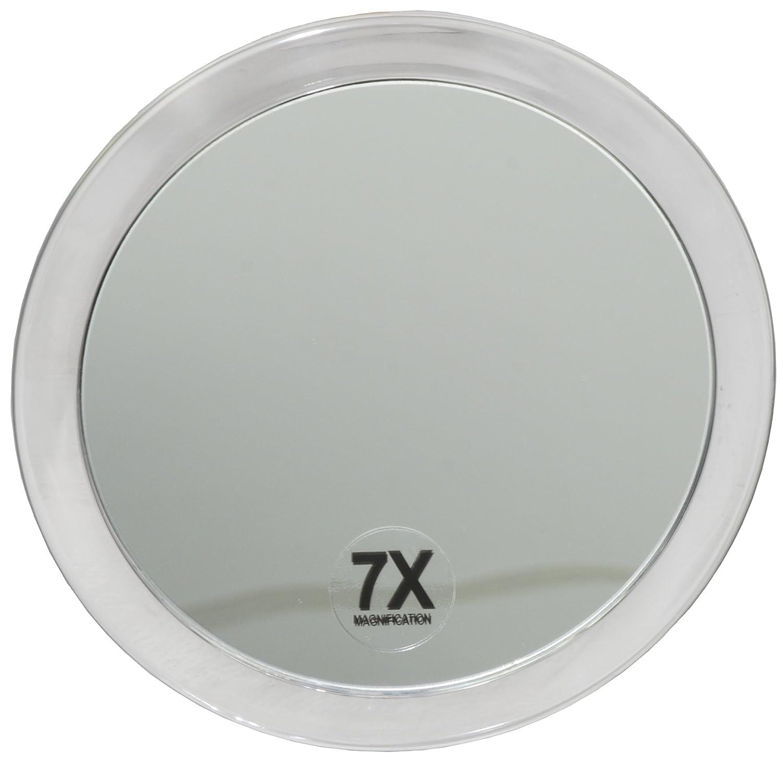 Fantasia 1356 - Specchio ad ingrandimento 7x, con 2 ventose, in plastica, ø 15 cm Fantasia KG Eric Espig (VSS)