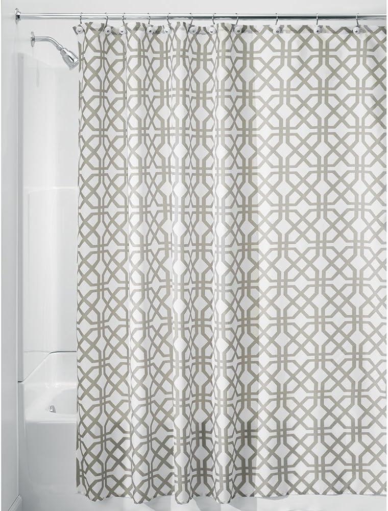 iDesign Trellis Fabric Shower Curtain - Stall 54