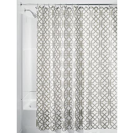 Amazon.com: InterDesign Trellis Fabric Shower Curtain - Stall 54\