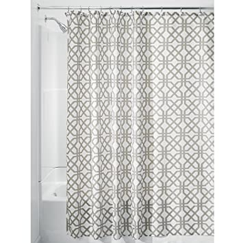 interdesign trellis fabric shower curtain stall 54u0026quot x 78u0026quot