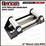 Ranger UTV Side by Side Winch Roller Fairlead 6' (152.4MM) Mount for 4000-5500 LBs UTV Winch by Ultranger