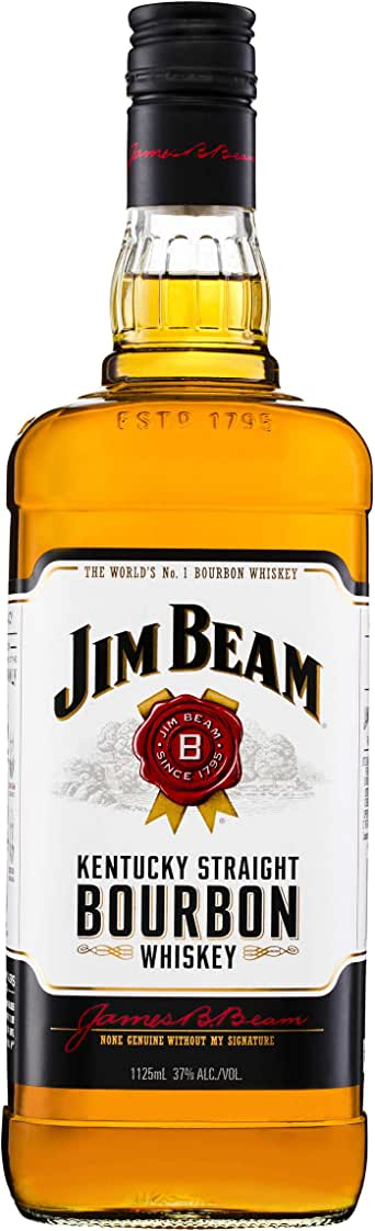 Jim Beam White Label Bourbon 1.125L