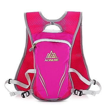 5.5L al aire libre agua vejiga bolsa hidratación mochila Camelback paquetes senderismo Camping bicicleta Ciclismo