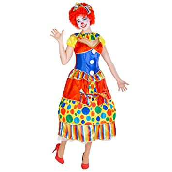 TecTake dressforfun Disfraz de Payaso Fridolina para Mujer ...