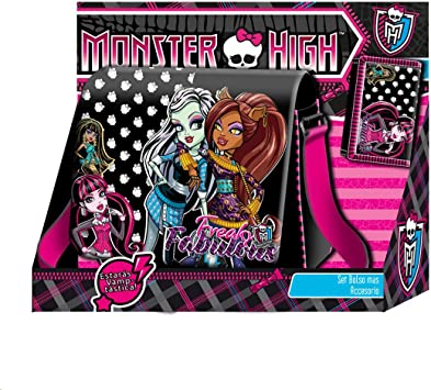 Monster High - Pack Bolso Solapa + Billetero con Velcro ...