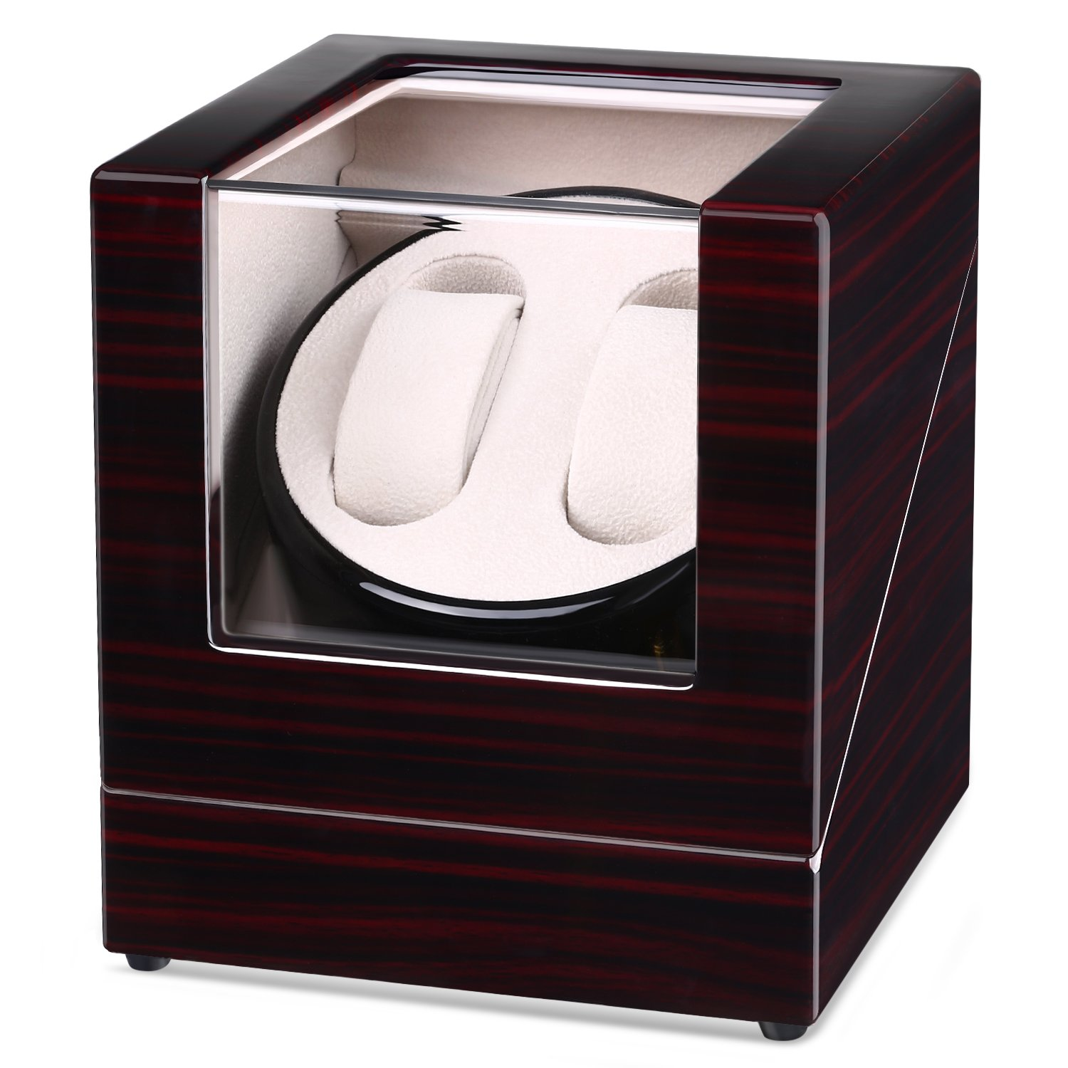 Intey Watch Winder for 2 Watches Watch Rotator Watch Box With Various Motion  Modes 59ed5e5fc