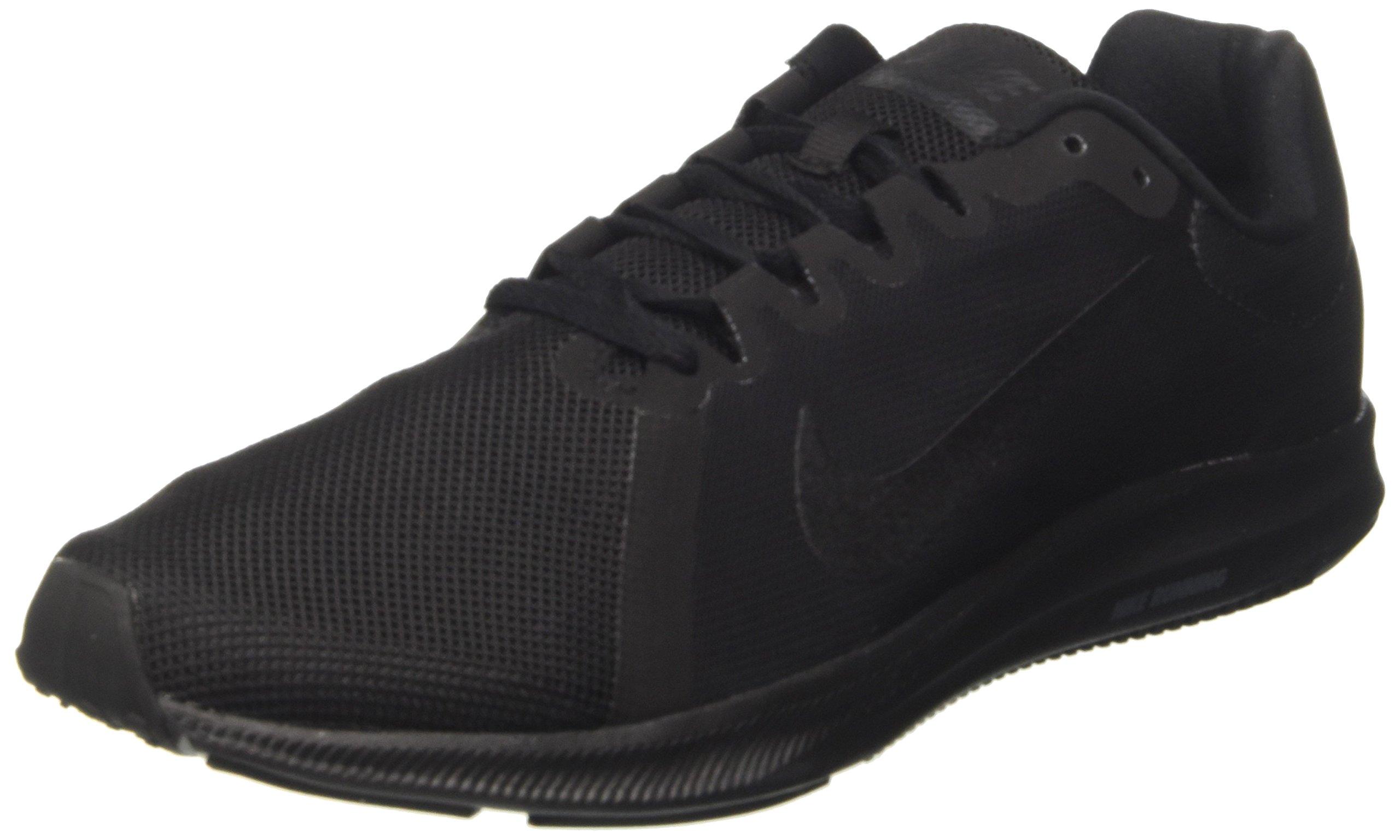Nike Men's Downshifter 8 Running Shoe, Black/Black, 7.5