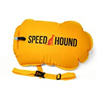 Speed Hound Marathon Swim Buoy - Open Water Swimming Buoy and Emergency Flotation Device with Dry Bag for Swimmers, Triathletes, and Snorkelers - Extra Durable Triathlon Gear