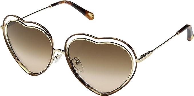 Gafas de Sol Chloé POPPY LOVE CE131S HAVANA GOLD/BROWN ...
