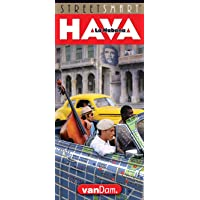 StreetSmart Havana Map by VanDam - City Street Map of Havana - Laminated folding pocket size city travel map (English and Spanish Edition) 2018 Edition