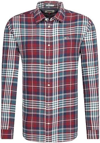 Tommy Hilfiger TJM Essential Brushed Shirt Camisa para Hombre