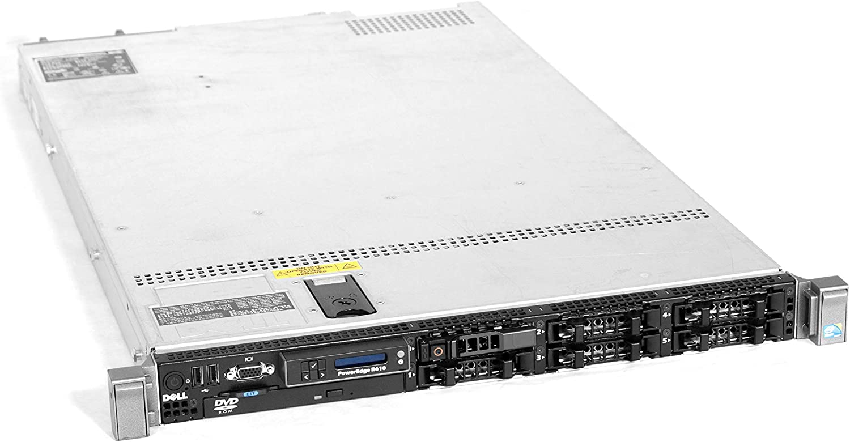 Dell PowerEdge R610 Server | 2 x E5520-2.26GHz Quad Core | 24GB RAM | SAS 6i | 4 x 300GB SAS (Renewed)