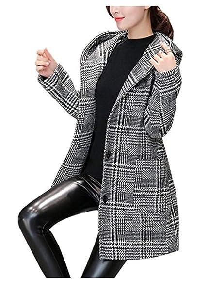 cappotti donna quadretti