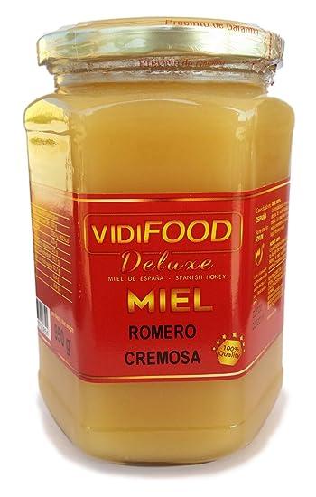 Miel de Romero Crema - 950g - Producida en España - Alta Calidad, tradicional &