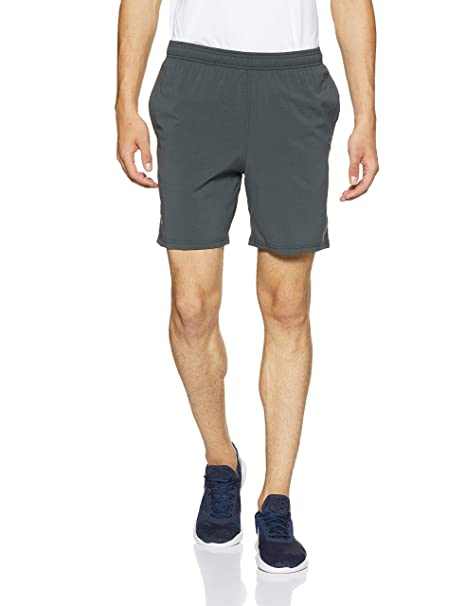 4659bae37e50d Under Armour Men's Launch Sw 7'' Shorts, Black Medium Heather /Reflective,