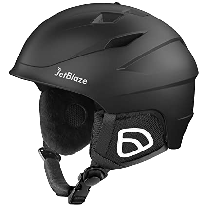 Amazon Com Jetblaze Ski Helmet Snow Sports Helmet Snowboard Helmet For Men Women Youth Sports Outdoors