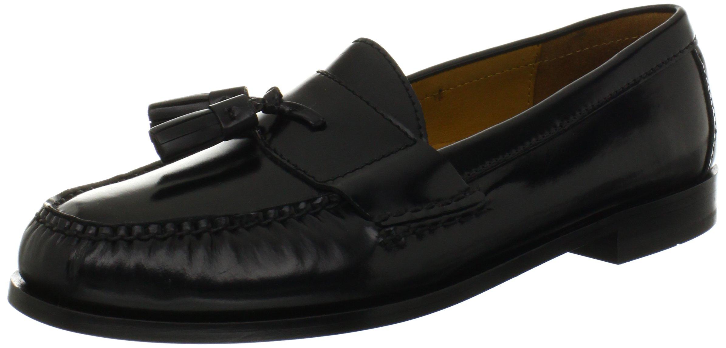 Cole Haan Men's Pinch Tassel Loafer, Black, 12 D US
