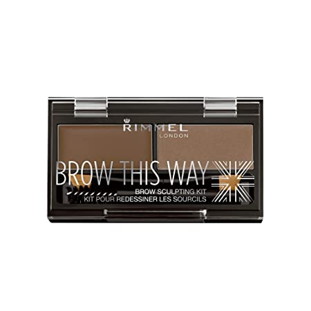 Rimmel London Brow This Way Brow Sculpting Kit, Medium Brown, 23 g-Best-Popular-Product