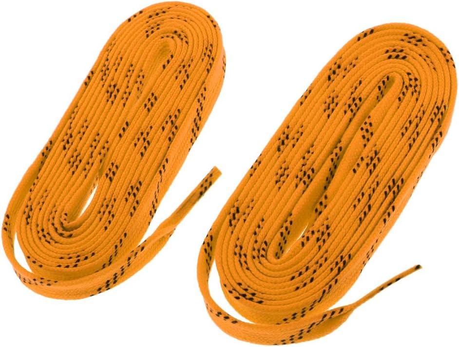 Baoblaze 2 Pedazos de Cord/ónes de Zapatos de Hockey de Nyl/ón Multiusos para Deportista Multiusos Unisexo Botas