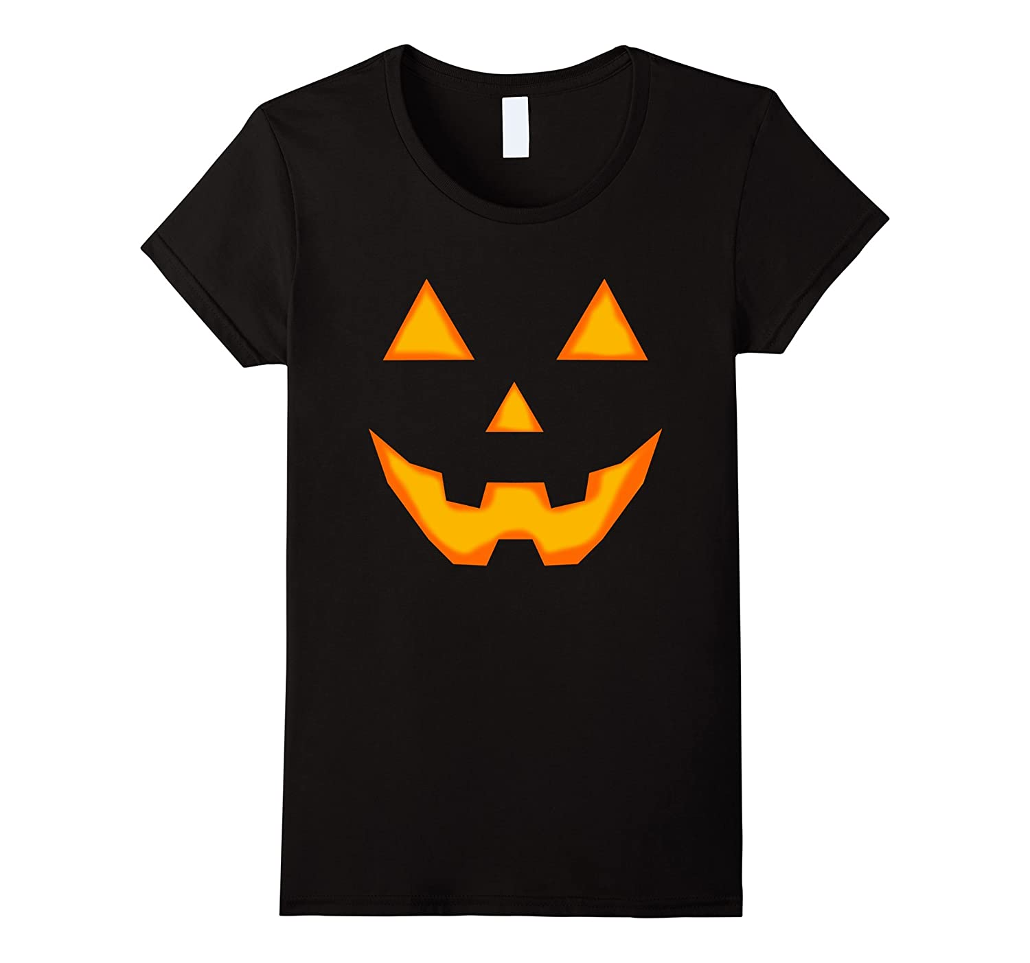 Jack O' Lantern Face Spooky Costume Halloween T Shirt