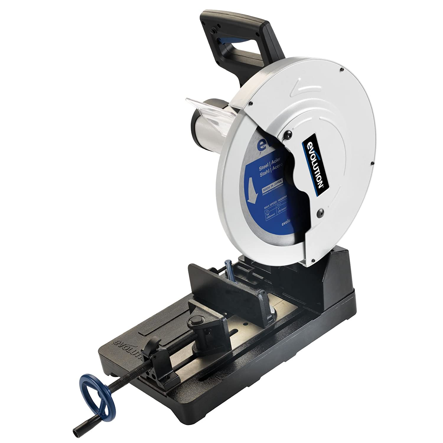 dry cut metal saw. evolution power tools evosaw380 15-inch steel cutting chop saw - circular saws amazon.com dry cut metal