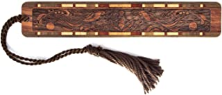 product image for Elegant - Handmade Engraved Wooden Bookmark with Tassel - Search B071KM7PTZ for Personalized Version