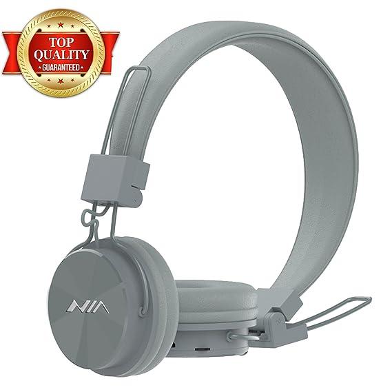 9375042d163 Amazon.com: GranVela Upgraded Wireless Bluetooth 4.2 Headphones X3 Retro  Foldable On-Ear Stereo Headset with Microphone, FM Radio, Micro SD Card  Player ...