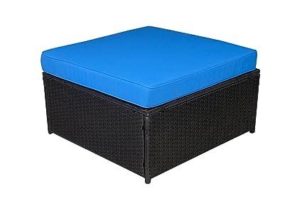 Amazon Com Mcombo Outdoor Rattan Wicker Sofa Couch Patio Furniture