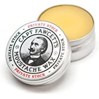 NEW CAPT FAWCETT'S MOUSTACHE WAX Mustache PRIVATE STOCK 15ml