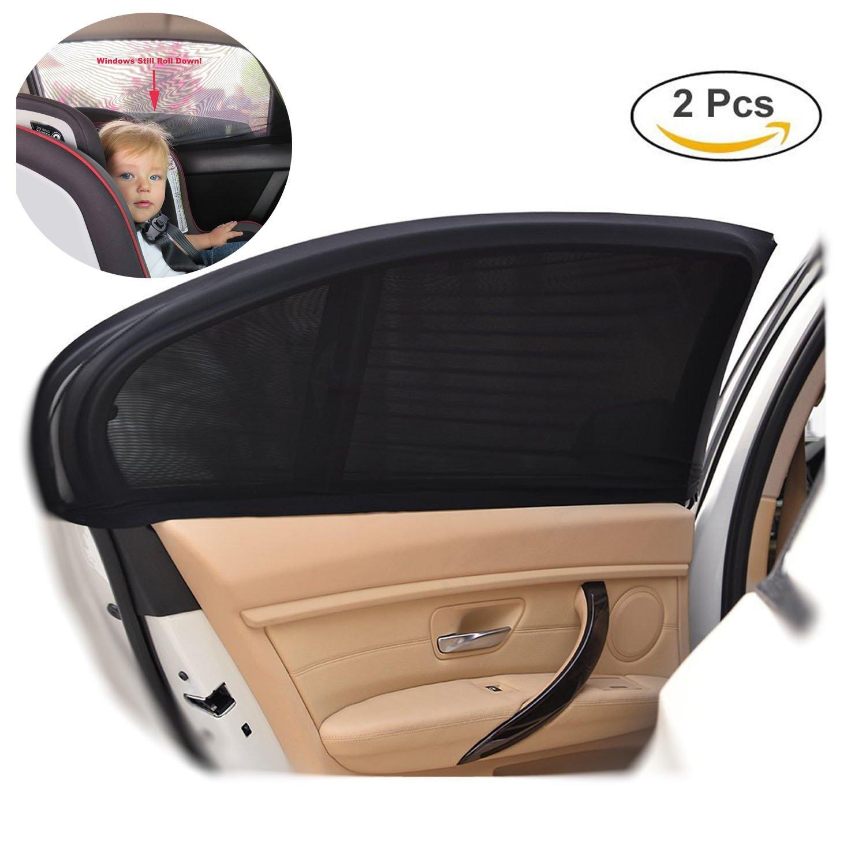 2/unidades, libre de PVC perjudiciales, se ajusta a la mayor/ía de los modelos de coches como hatchback y sed/án Kyerivs Parasol para beb/és de ventana de coche