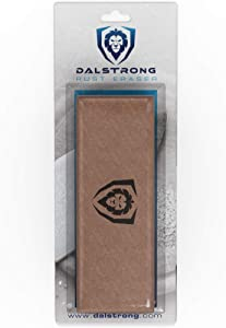 DALSTRONG Premium Rust Eraser - Knife Maintenance and Care - For Knives, Scissors, Steel Pots and Pans, Whetstones, and more - Calcium Carbonate